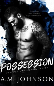 Possession by AM Johnson Ebook Cover in watercolor